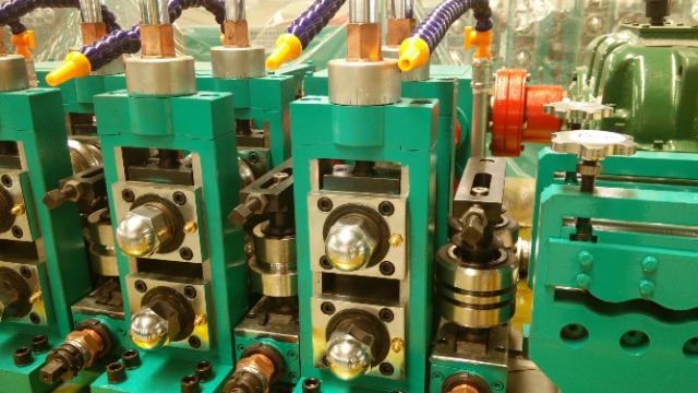 二手高频焊管机组厂房与电力规划