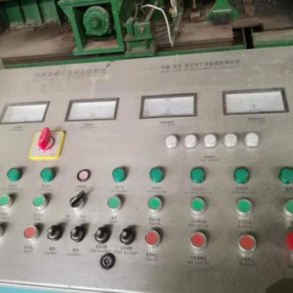 114扩165二手焊管设备高频操作台
