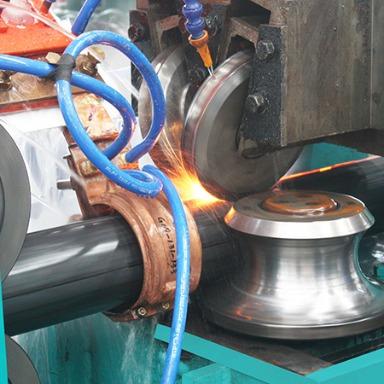 600kw高频焊接应用现场