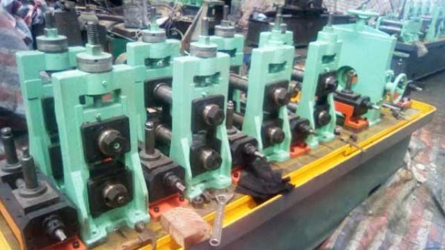 山东客户已订购,二手焊管设备