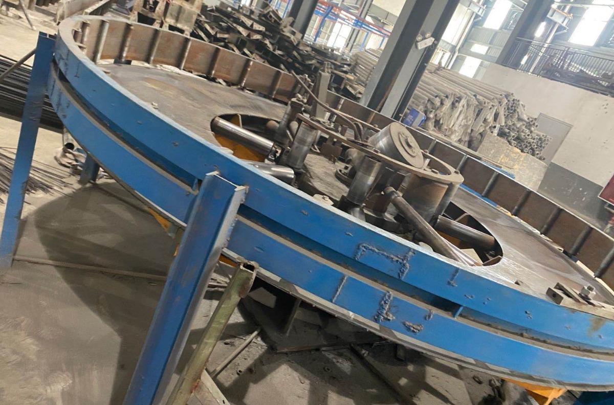 50南扬二手焊管机组,适合加工棚架管
