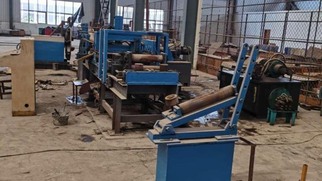 高速自动焊管生产线上,哪些设备的自动化水平提高了?