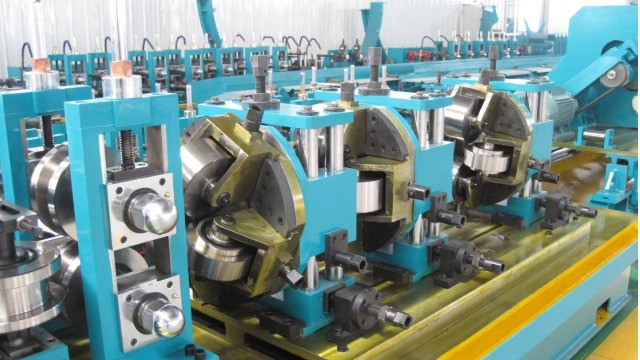 冷弯焊管设备生产焊管的质量检测