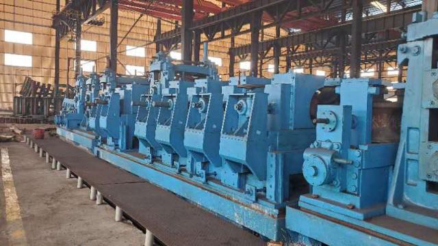 二手大型焊管机组要定期做好维护和保养!