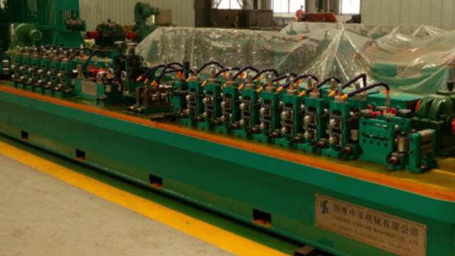 二手制管机械设备高频焊挤压辊的挤压力
