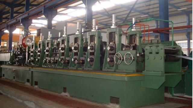 镀锌方管设备成形技术