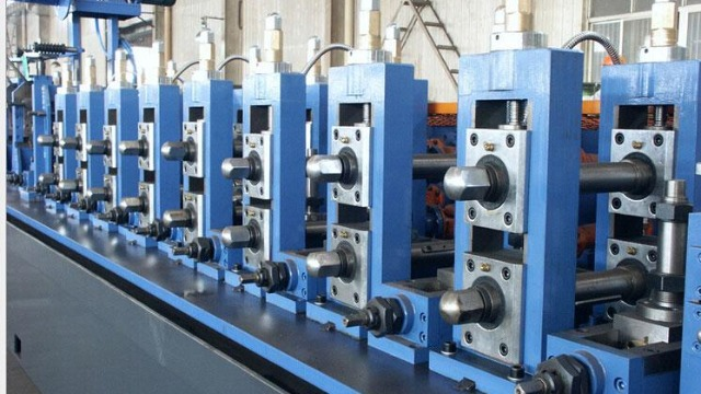 自动焊管生产线生产工艺