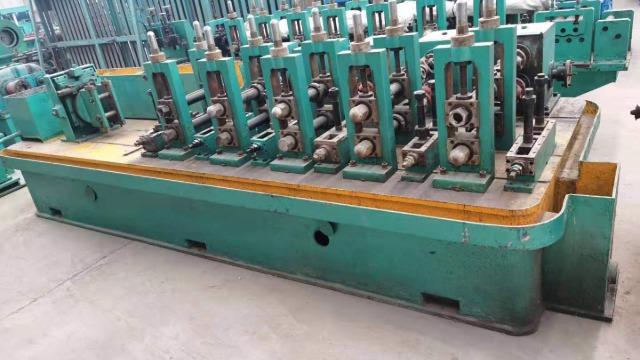 二手工业焊管机组生产钢管如何成型