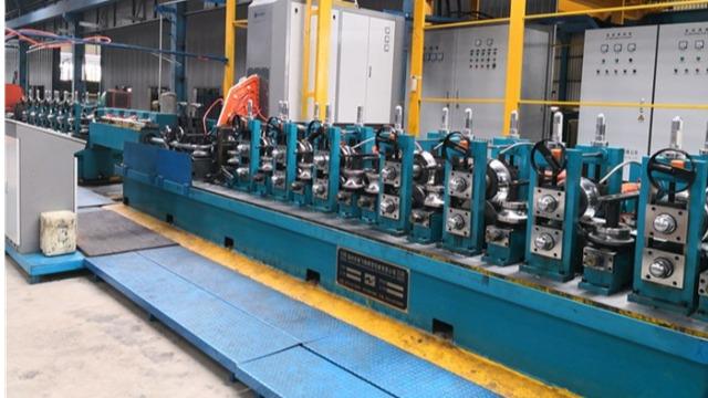 二手工业焊管机组焊管管坯宽度消耗