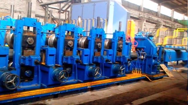二手方管机器焊管成型如何调整?