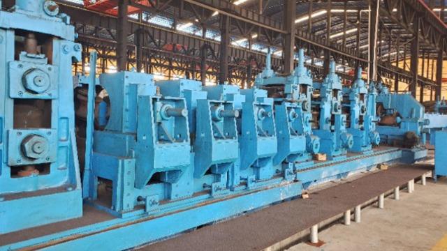 掌握二手大型焊管机组的开口角(焊接V角)内涵