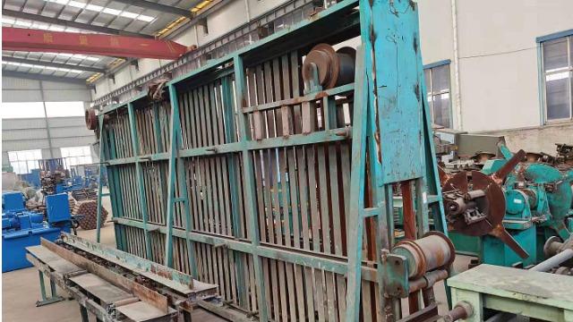 剖析二手焊管生产线入料全过程中的调整