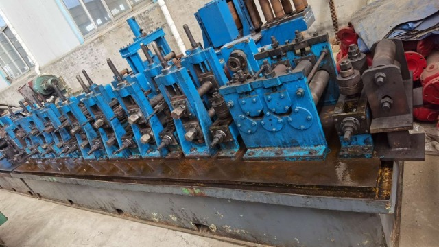 二手焊管生产线换辊后的成型如何调整?