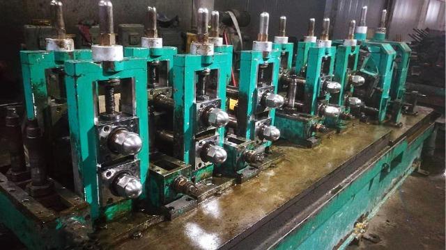 二手工业焊管机组成型立辊的基本上工作调整功效