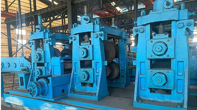了解二手大型焊管机组的轧辊寿命