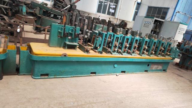 二手工业焊管机组挤压力对焊接质量的影响