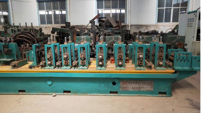 二手高频直缝焊管设备原料对焊管质量的影响