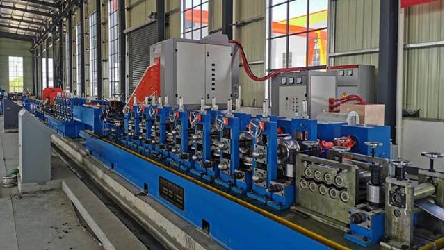 分析二手工业焊管机组焊接温度对焊接质量的影响
