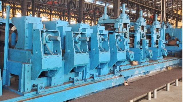 如何解决二手大型焊管机组厚壁管成型难点?