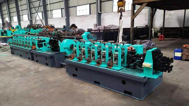 二手焊管生产线焊缝在线热处理工艺与空冷长度