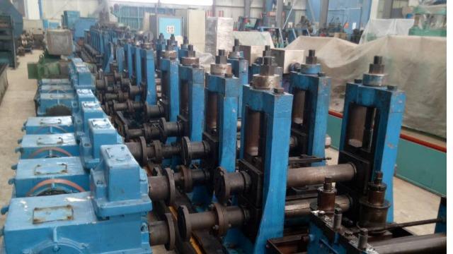 二手直缝焊管生产线工作原理