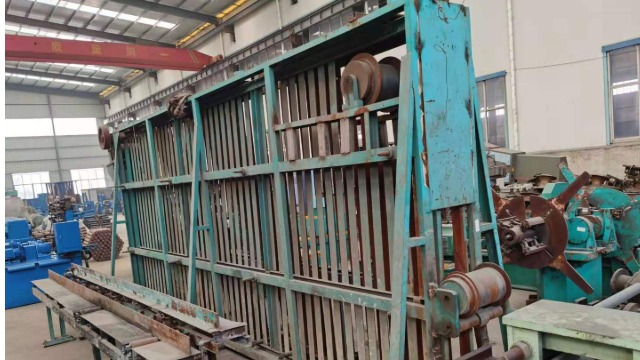 为扬州客户完成二手高频焊管生产线的上料系统控制