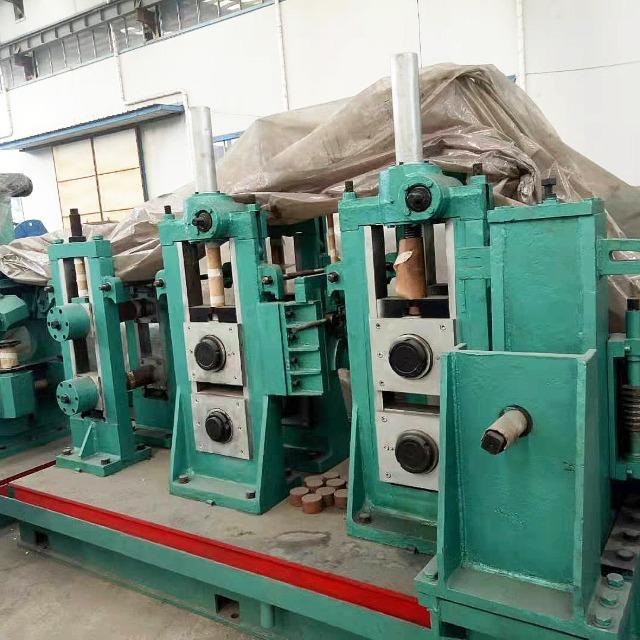 114加重型二手焊管机组右进料